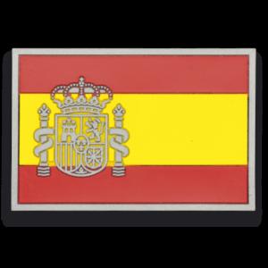 Parche de Goma Bandera de España Martinez Albainox Marrón (7.4 X 4.9 Cms) 09299
