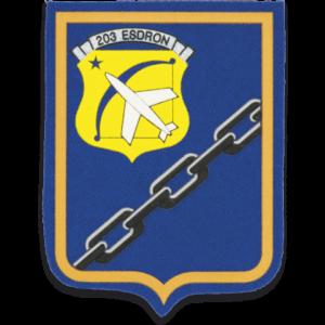Parche Martinez Albainox Escuadron 203 de 7,9 cm 09769