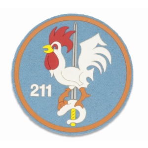 Parche Martinez Albainox de Escuadron 211 de 9,5 cm 09771