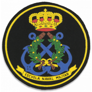 Parche Martinez Albainox de Escuela Naval Militar de 9,8 cm 09774