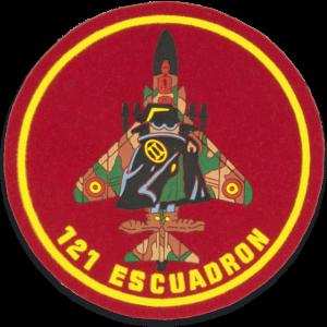 Parche Escuadron 121 Martinez Albainox de 10.5 cm