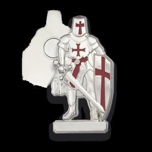 Iman Templario Tole 10 de 7 cm  en Zamak 09814