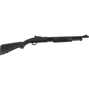 Escopeta CYMA Tipo Spa ZM61 Tactical Calibre 6mm,  Negra,  Energía 0,91 Julios - Velocidad de disparo 123m/s - 405 FPS. Ref:ZM61A
