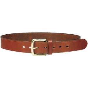 Cinturón de cuero con hebilla de latón macizo H 4 cm Vega Holster 1C00