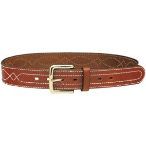 Cinturón de cuero con hebilla de 4 cm en color marrón o negro Talla M,L  Vega Holster 1C20