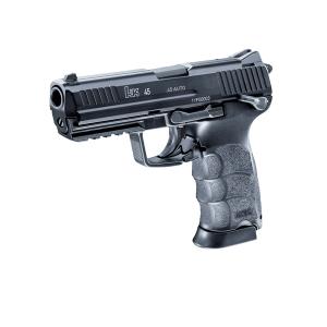 Pistola H&K P 30 45  Blouback Gas 6 mm, indicada para Airsoft Gas, 875 gramos de peso,  U2.5934