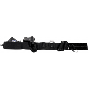 Faja elástica con funda para pistola, cargador, y grilletes, con doble bolsillo Vega Holster 2ET01