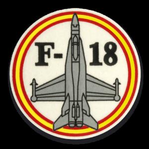 Albainox Parche F-18 30494