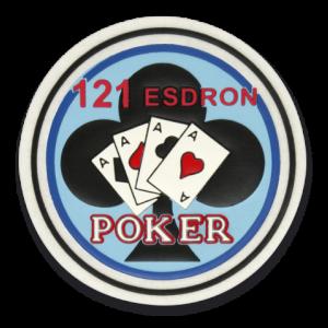 Parche Martínez Albainox 121 Esdron - Poker 30497