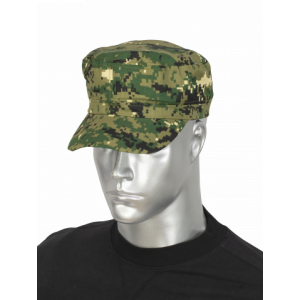Gorra de color Camo Pixel Verde Barbaric talla única, con velcro regulable