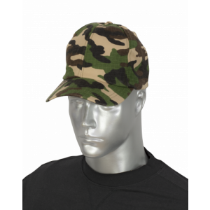 Gorra color Camo Barbaric. Talla única con velcro regulable