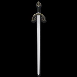 Espada Tizona Corta Del Cid Campeador Para Colección de 74 cm de longitud  hoja de acero inoxidable 31631