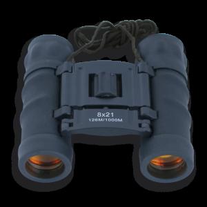Binocular Martinez Albainox de Color Negro 8x21 Mm con Lente de Rubí y Funda Incluida 33070