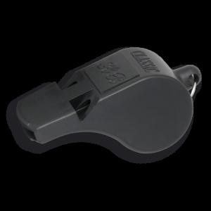 Silbato profesional de Dos Tonos Profesional Martinez Albainox, color  Negro de 5.5 cm en PVC