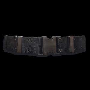 Cinturón Albainox De Nylon 130 X 5.7 Cm Color Negro 33682