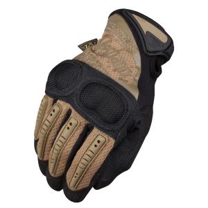 Guante Táctico M-pact 3 Mechanix Wear, Color Coyote, Aporta Máxima Protección, Tallas S, M, L, Xl