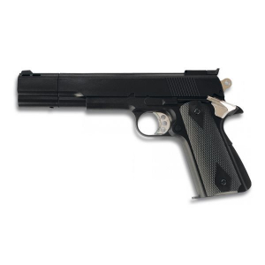 Pistola de gas airsoft HFC cuerpo de pvc munición 6 mm Negra 35029