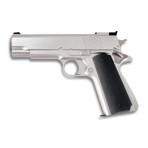 Pistola de Gas Airsoft HFC, con Cuerpo de Pvc 63m/s - 208 Fps Color Blanca, energía 0,40 Julios 35102