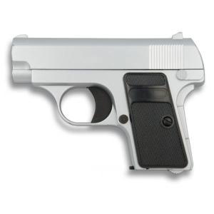 Pistola Mini Airsoft De Muelle Serie Metálica Peso 330g Calibre 6 Mm, energía 0,28 Julios, Potencia 68 M/s 35501