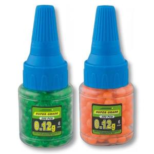 Biberon con Bolas de plástico Martinez Albainox para Air Soft PVC 6 mm 0.12 g 200 bolas 35839