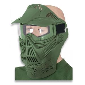 Mascara Martinez Albainox PVC Color Verde Ornamental 35879