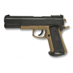 Pistola Ciber Gun Colt Mk Iv, Ideal Para Airsoft, 185 Gr, 65 M / S - 214 Fps, Capacidad 90 Bbs, energía 0,25 Julios, 38269