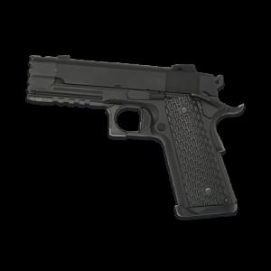 Pistola de Airsoft de GAS Golden Eagle / 3308  Full Metal Blowback bolas de 6 mm 270 Fps, energía 0,67 Julios,  82m/s