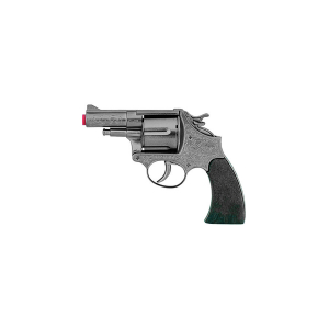 Revolver Metal de Juguete, Funciona Con Fulminantes ( Mixtos)  Parabellum 73/0