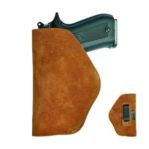 Funda de Piel Interior para Pistola Automática en color marrón Parabellum 95153