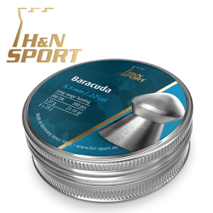 Balines H&N Barracuda 1,37g Lata 200 Unid. 5,5mm