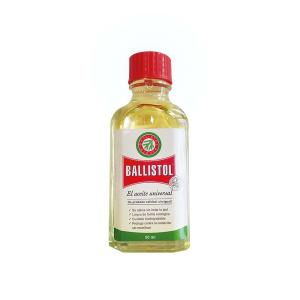 Aceite Ballistol 50 ml, para mantenimiento de armas, elimina restos de pólvora, plomo y cobre, apto para otros usos, L208