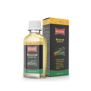Balsin Aceite Protector para Culatas y cuidado de maderas, regenera e intensifica, Ballistol Bright 50 ml L276