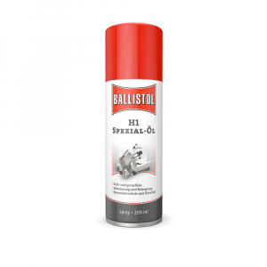 Aceite Baliistol H1, formato Spray 200 ml, ideal para maquinaria y equipos de tratamiento alimentario, incoloro e insaboro, L280