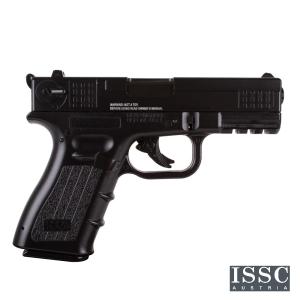 Pistola Airsoft de gas co2 ISSC M22 WG corredera de metal 125m/s 1 Julio Bolas de 6mm No Blowback