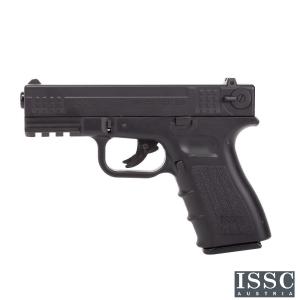 Pistola Airsoft Gas Co2 ISSC M22 WE-Tech GEN-4 Blowback corredera metálica bolas 6mm 300 fps color Negro
