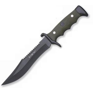 Cuchillo Combate 3002 Miguel Nieto de 30 cms, con hoja de acero de 18 cms y mango de ABS y Zamak con pintura epoxi
