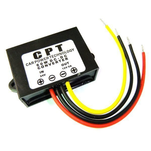 Reductor / Convertidor 60W  y 5A DC-DC de 24V a 12V CPT60W24to12V