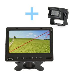 Kit de cámara trasera con monitor AHD de 7