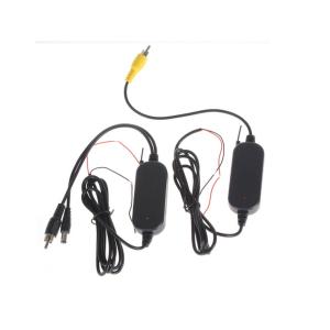 Kit transmisor inalámbrico 2.4G para cámara marcha atrás a color, Transmite y recibe la señal hasta 10 metros