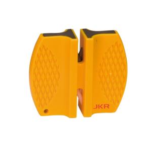 Afilador de bolsillo Joker, fácil de utilizar, diseño antideslizante, color amarillo, JKR2004