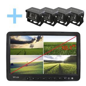 Kit de de cámaras para aparcamiento de vehículos con Pantalla LCD  de 10,1
