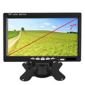 Monitor visión trasera en vehículos de 7