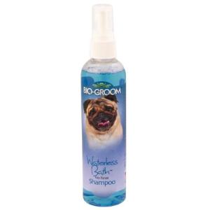 CHAMPÚ en seco Waterless Bath para mascotas, limpie las barbas, patas y manchas de orina, 236 ml