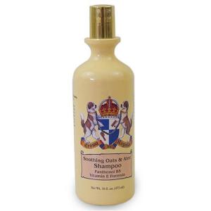 Champú de Avena & Aloe Crown Royale, muy hidratante, para perros con pieles sensibles y restaurar mantos estropeados, envase 473 ml