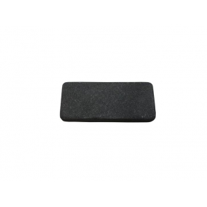 Piedra de Afilar pequeña J&V medidas 6 x 2,5 x 1 cm Herramienta de Camping para Pesca, Caza, Actividad Deportiva