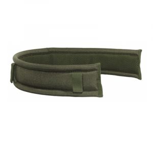 Cinturón bajo de cordura con presillas de velcro para insertar en cinturón de 5 cm color verde Vega Holster  2SM02