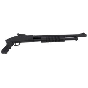 Escopeta CYMA Tipo Spa Shorty ZM61 Tactical Calibre 6mm - Negra - Energía 0.91 Julios - Velocidad de disparo 123m/s - 405FPS. Ref:ZM61
